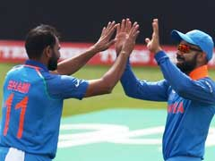 Live Cricket Score, Champions Trophy Warm-Up Match, India vs New Zealand: Successive Wickets For India As Williamson, Broom Depart