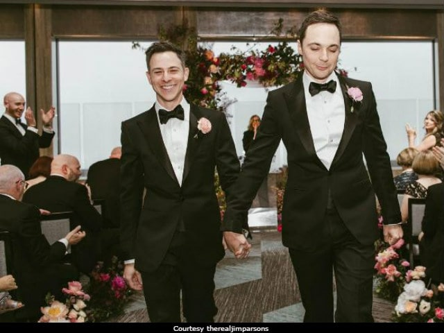Inside Big Bang Theory Star Jim Parsons And Todd Spiewak's Wedding And Reception