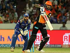 IPL 2017: Hyderabad Consolidate 4th Position With Dominant Win Over Mumbai