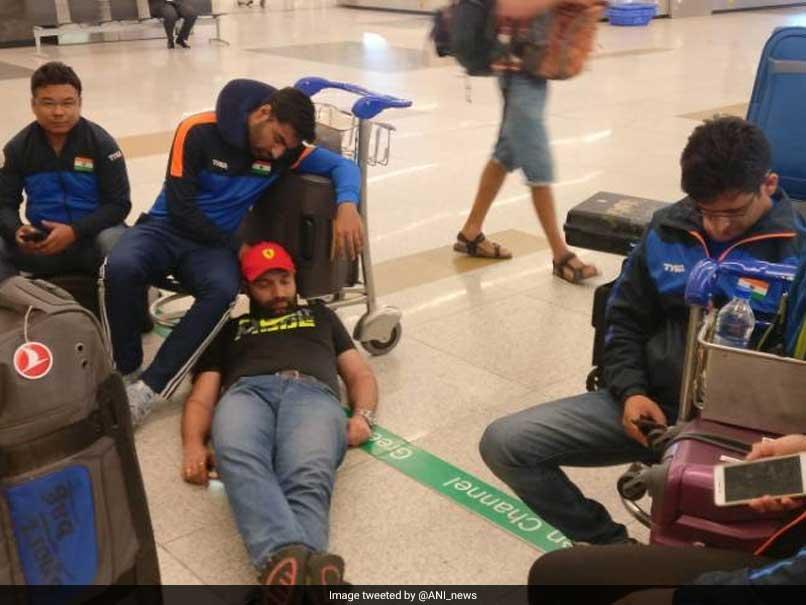 Abhinav Bindra Tweets His Displeasure At Treatment Of India Shooting Team At Delhi Airport