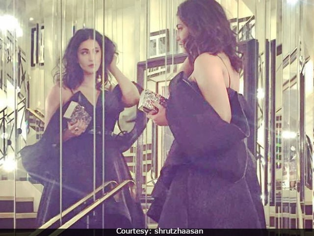 Cannes Film Festival: Shruti Haasan's Red Carpet Debut - Like Her Look?