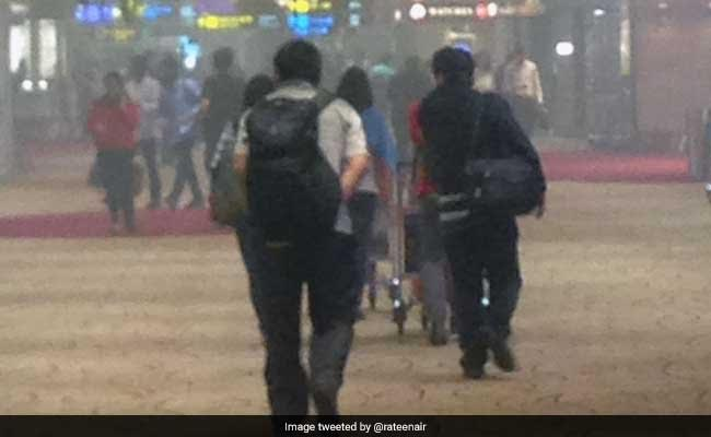 Fire breaks out at Changi Airport T2 departure hall