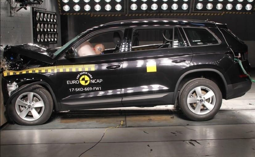 skoda kodiaq euro ncap crash test