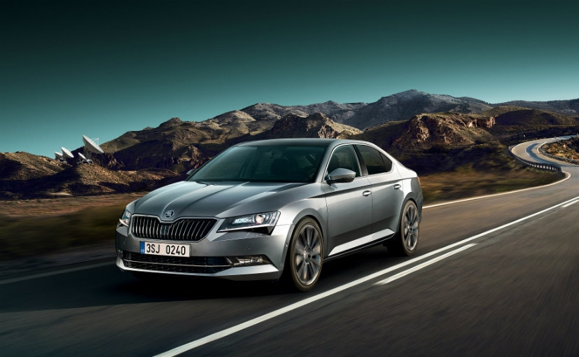 The 2020 Skoda Superb may be offered with a hybrid powertrain.