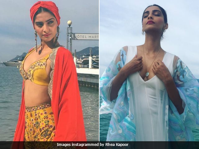 Cannes Film Festival: Sonam Kapoor's Fashion Game Of 'Fire And Ice'