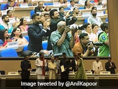 Anil Kapoor Clicking Sonam Kapoor's Pics At National Awards Is Every Dad Ever