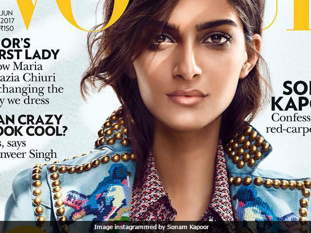 Sonam Kapoor Covers Vogue In Gucci. Scores Perfect 10