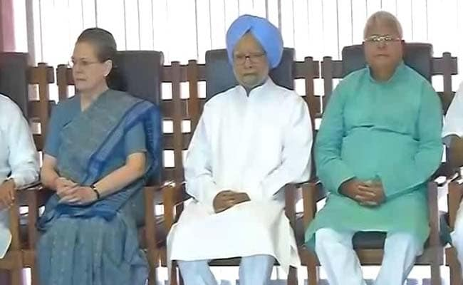 Arch-rivals Left and Trinamool, SP and BSP attend Sonia lunch