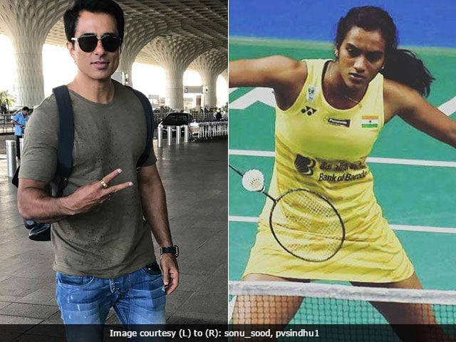 Sonu Sood To Make Biopic Of P V Sindhu, She's 'Honoured And Pleased'