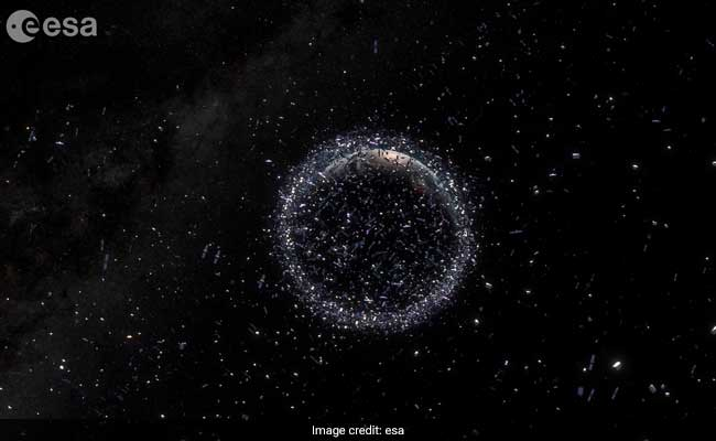 Space Garbage In Orbit Makes Leaving Earth Much More Dangerous