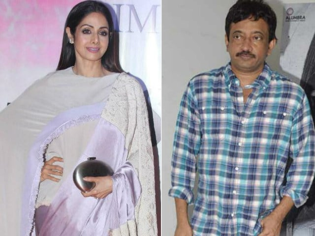 Dear Sridevi, Why Didn't You Do Baahubali? Ram Gopal Varma Wants To Know
