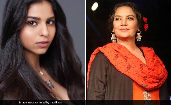 शाहरुख खान की बेटी के बारे में यह बोलीं शबाना आजमी, एक्टर ने दिया जवाब