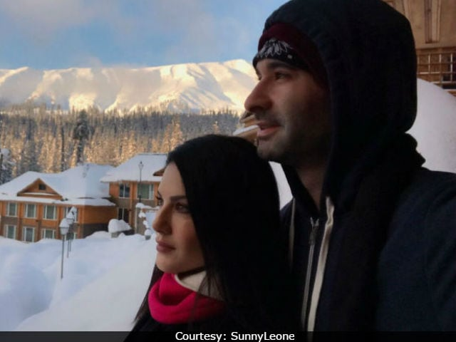 Sunny Leone's Husband Daniel Weber Is The 'Most Precious Gift' Of Her Life