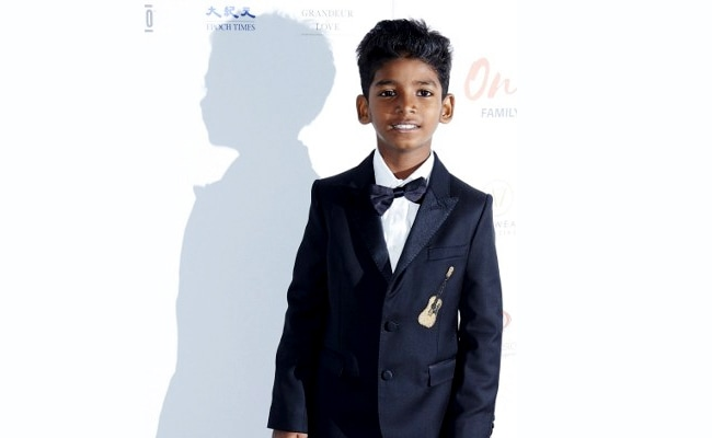 Lion Actor Sunny Pawar, 8, Is A Rising Star. These Pics Prove It