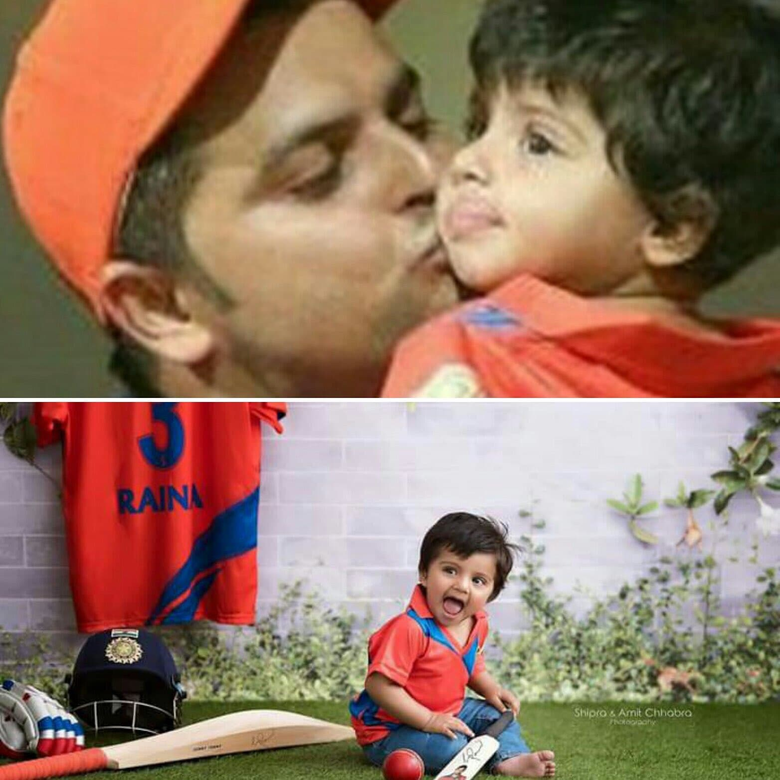 suresh raina daughter gracia
