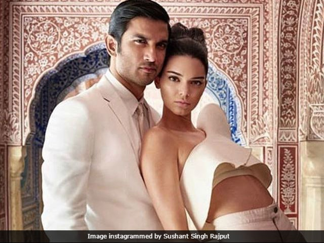 Sushant Singh Rajput And Kendall Jenner Cover Vogue