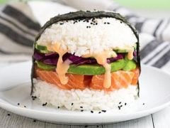 Sushi Burger: The Hottest New Food Trend?