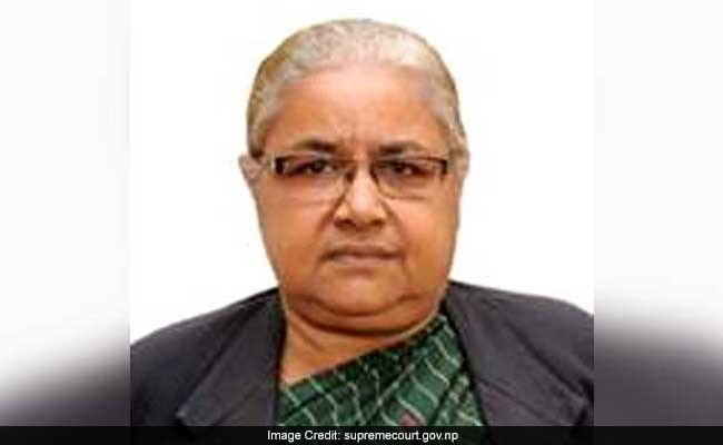 Nepal Moves To Impeach First Woman Chief Justice Sushila Karki