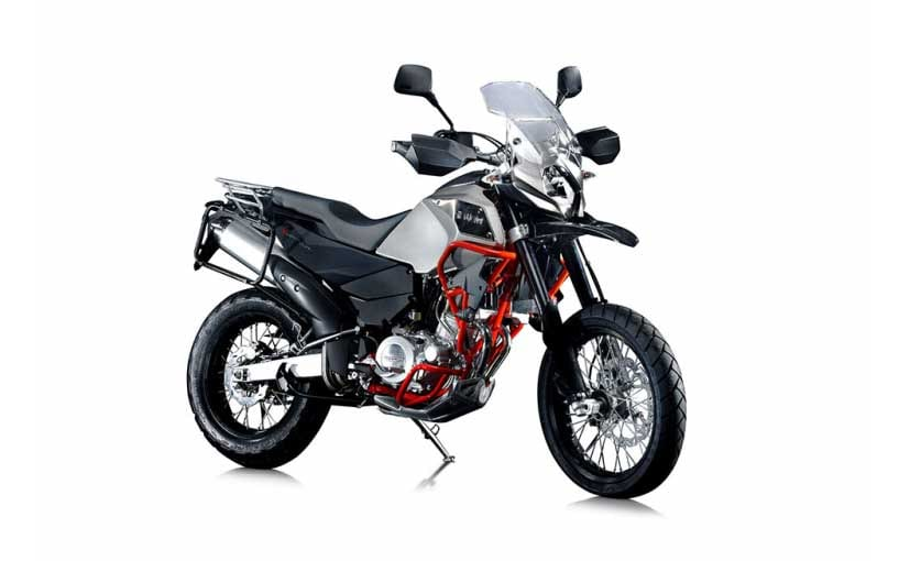 The SWM Superdual T will be one of the seven launches lined up by MotoRoyale