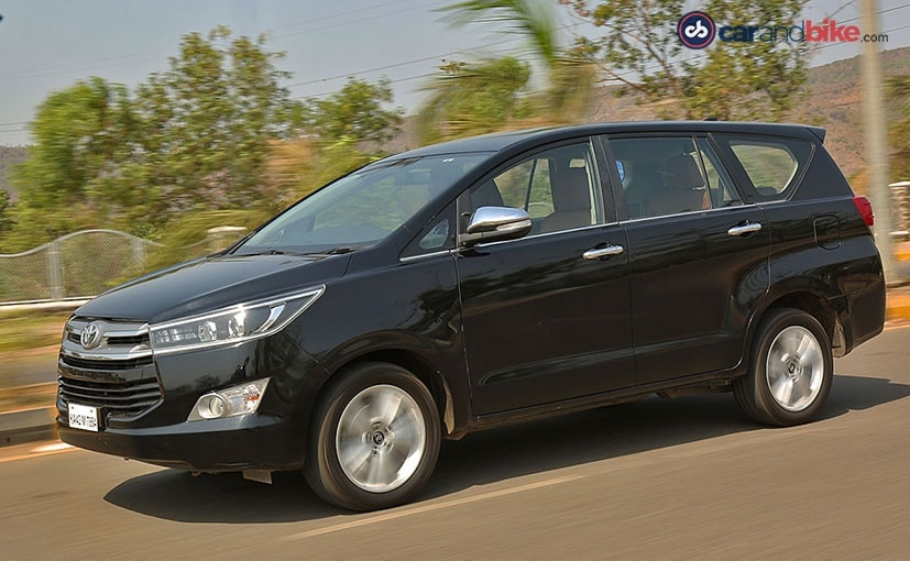 the innova though 4 lakh more expensive than the hexa is a good