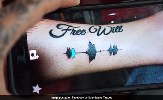 A Tattoo That You Can Listen To? It's Actually A Reality Now