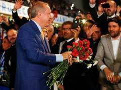 Turkey's Tayyip Erdogan Vows Fight Against Enemies As He Returns To Lead Party
