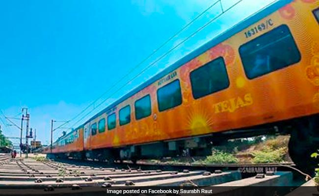24 Passengers Fall Ill After Consuming Food On Mumbai-Bound Tejas Express
