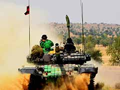 Amid Tension With Pak, Army's Show of Strength in Rajasthan
