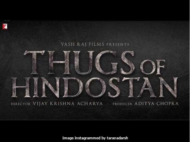 Thugs Of Hindostan: Logo Of Amitabh Bachchan And Aamir Khan's Film Unveiled
