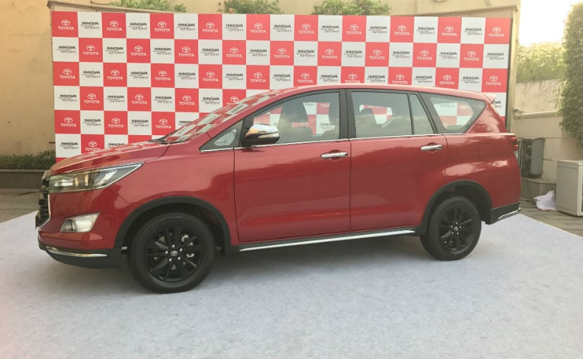 Toyota launches the Innova Touring Sport in India