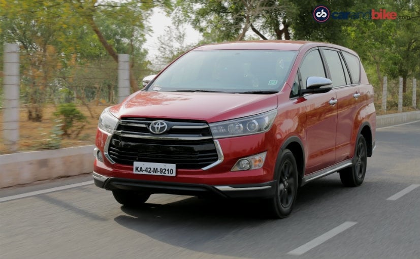 Toyota Innova Crysta Touring Sport Review