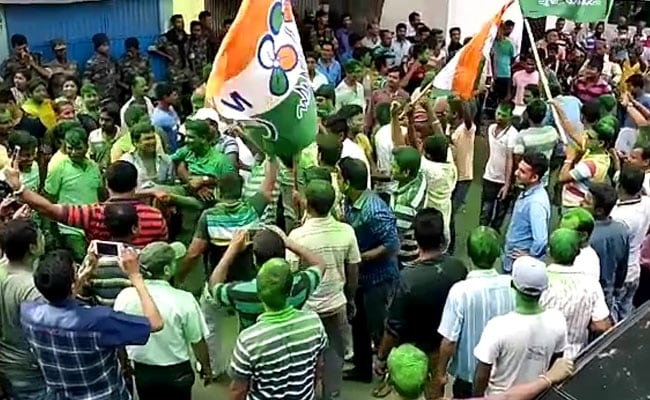 In West Bengal, Trinamool Congress, BJP Supporters Clash, Security Forces Called