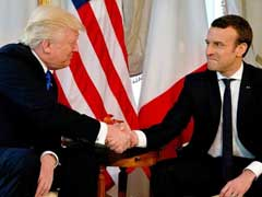 Emmanuel Macron Says Was Ready To Out-Trump Trump In Handshake