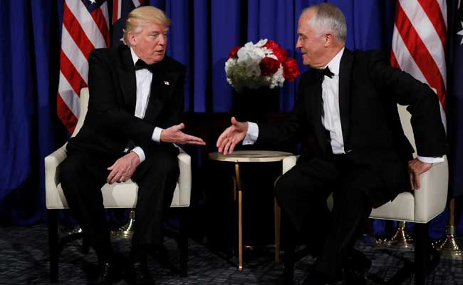 Australia Prime Minister Brushes Off Leaked Donald Trump Phone Transcript
