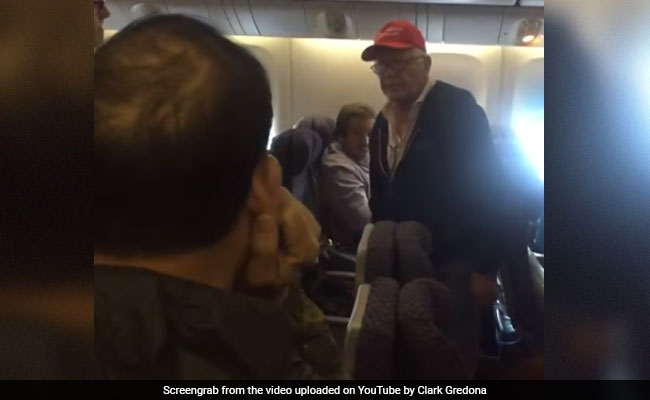 Man In Trump Hat Was Kicked Off Flight As Crowd Chanted 'Lock Him Up!'