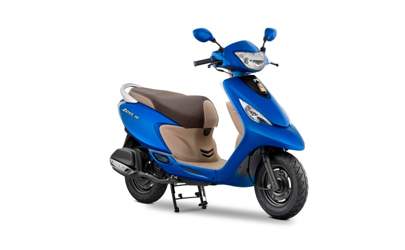 TVS Scooty Zest 110 Matte Series Launched; Priced At ₹ 48,038