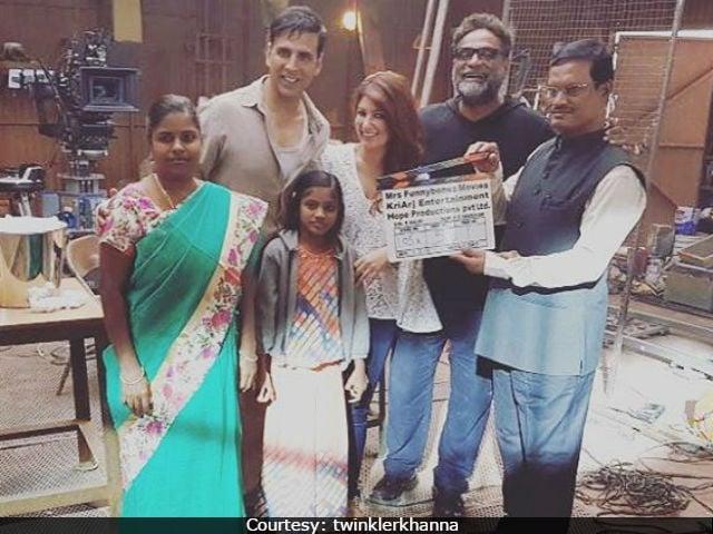 When Akshay Kumar, Twinkle Khanna Met 'Real Life Padman'