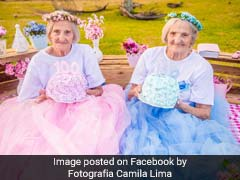 Twin Grannies Turn 100. Their Celebratory Photoshoot Is Adorable
