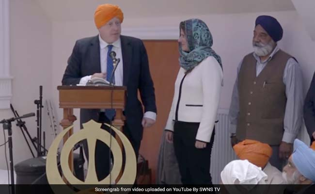 Boris Johnson, UK Foreign Secretary, Admonished For Talking About Whisky In Gurdwara