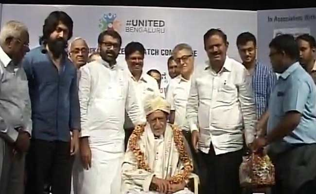 Among Those Trying To Save Bengaluru Lakes, A 99-Year-Old Freedom Fighter