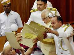 On Day 1 of UP Assembly, Paper Balls Thrown At Governor