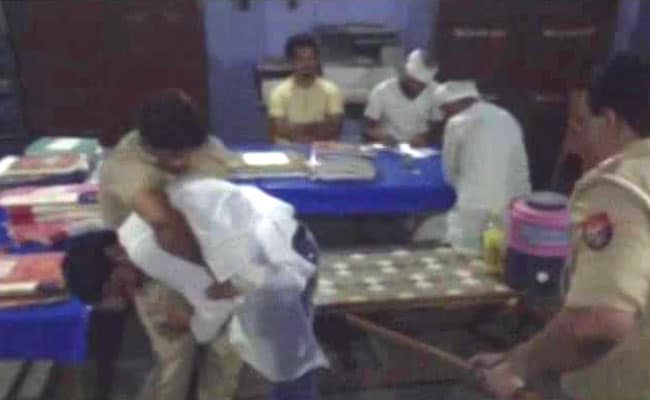 For Caning 'Masterclass' Inside Police Station, UP Inspector Suspended