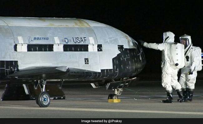Mysterious US Drone Back On Earth After 2 Years In Space