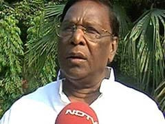 Puducherry Chief Minister V Narayanasamy Presents Rs 6,945-Crore Tax-Free Budget