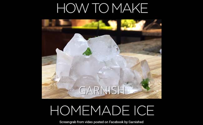 80 Million Views For This Recipe For Ice. Watch It To Believe It