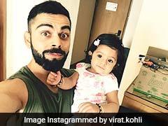 विराट कोहली की दाढ़ी नोचती दिखी हरभजन सिंह की बेटी, नोच चुकी है सचिन का गाल
