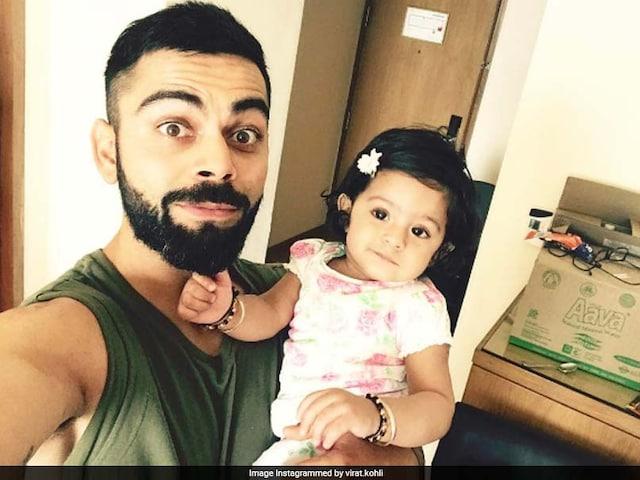 IPL 2017: Virat Kohlis Adorable Selfie With Harbhajan Singhs Daughter. Cuteness Overload