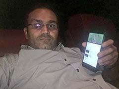 Virender Sehwag Can't Stop Tweeting. Says This While On Movie Date With Wife