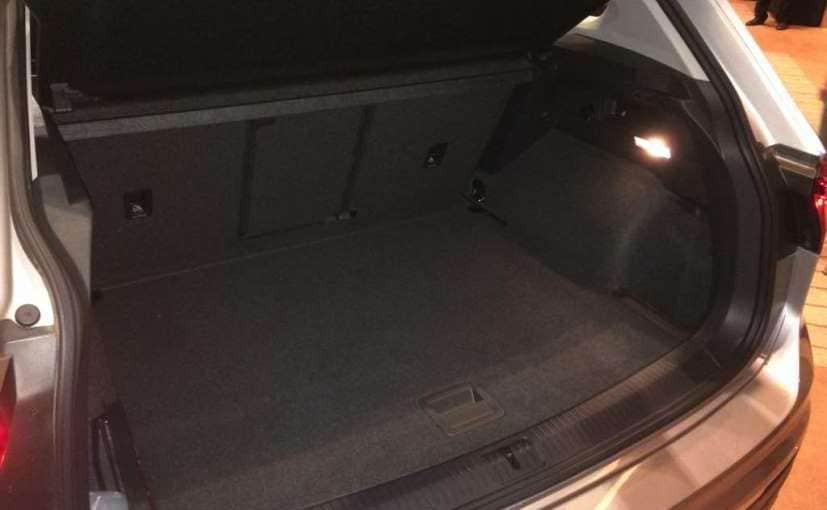 volkswagen tiguan boot space