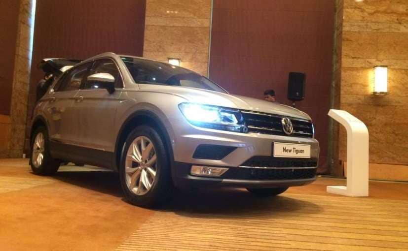volkswagen tiguan is a 5 seater suv